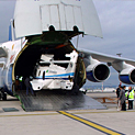 antonov AN 124, helicopter transport